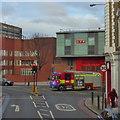 TQ3378 : Trafalgar Avenue junction with Old Kent Road by Robert Eva