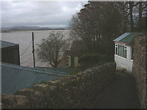 SD4578 : Footpath down to the promenade, Arnside by Karl and Ali