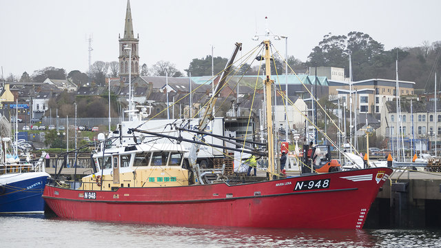 The 'Maria Lena' at Bangor