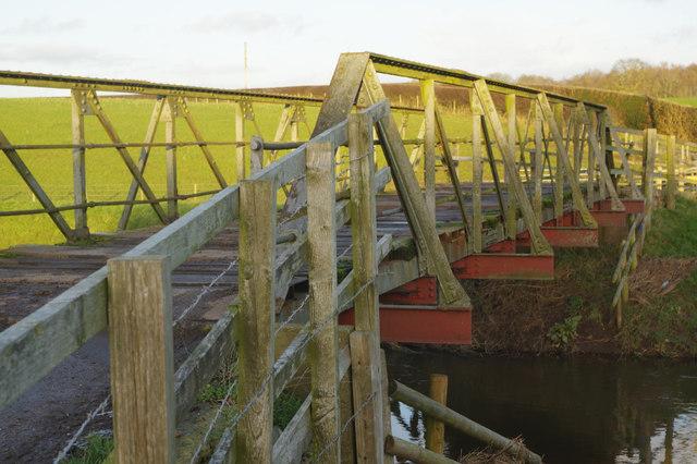 Bridge over the River Weaver, Church Minshull