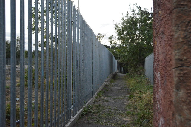 Footpath off Sandhurst Rd by N Chadwick