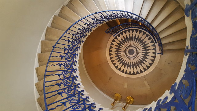Tulip Staircase in the Queen's House, Greenwich