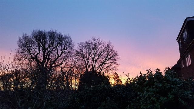 Sunrise in London N14