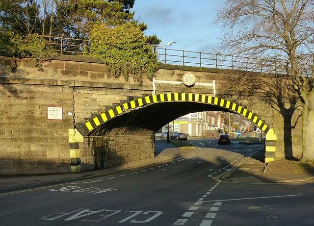 Tamworth Road railway bridge, Sawley