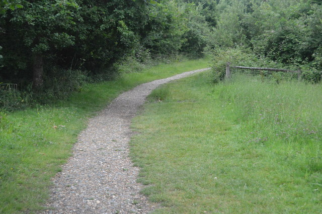 Footpath by Ardingly Reservoir