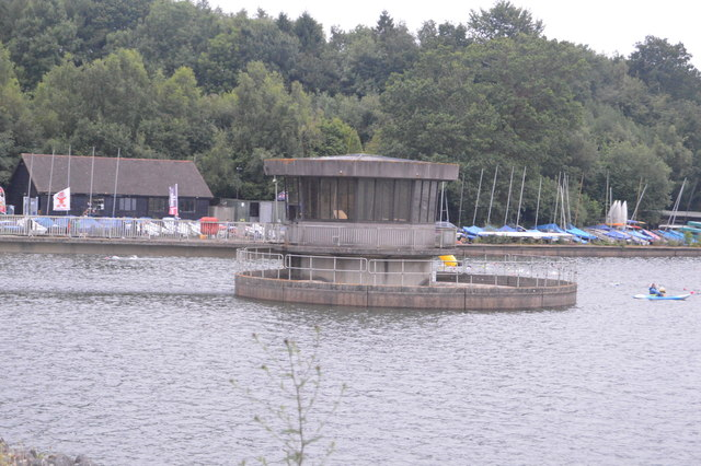 Outflow tower, Ardingly reservoir