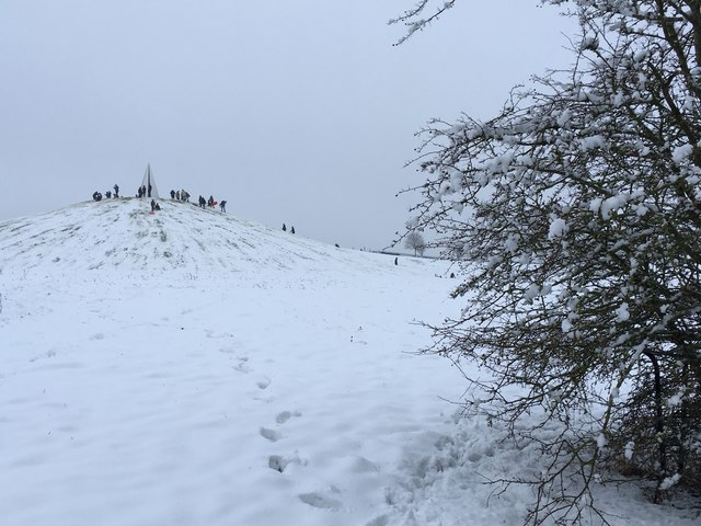 Campbell Park snow scene