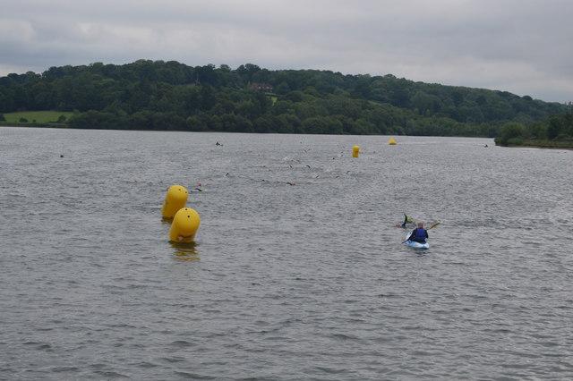 Openwater swimmers, Ardingley Reservoir