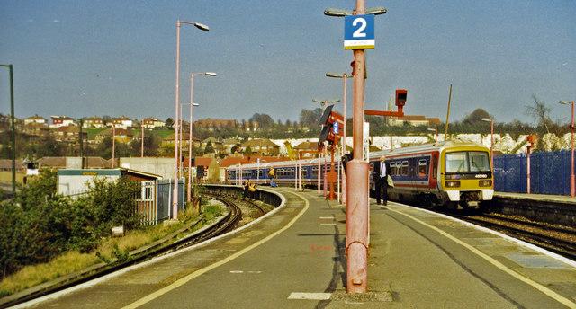 Strood station, 2000
