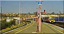 TQ7369 : Strood station, 2000 by Ben Brooksbank