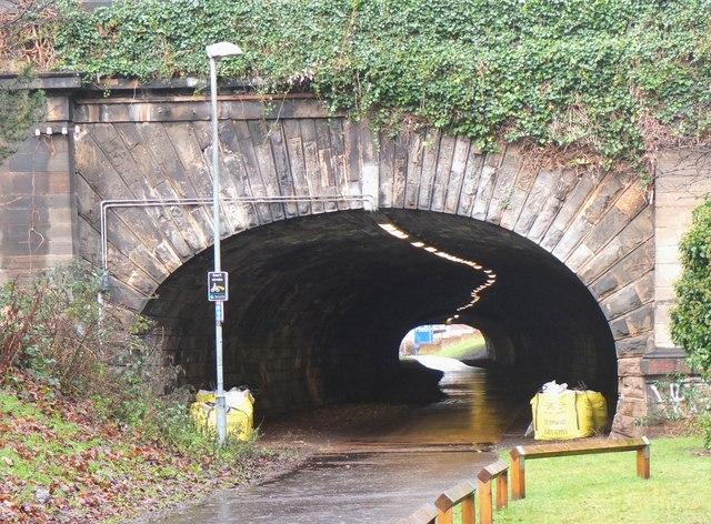 Rodney Street tunnel, Edinburgh
