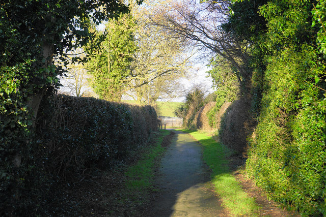 Footpath on the edge of Lichfield