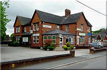 SJ9253 : Village businesses in Endon, Staffordshire by Roger  Kidd