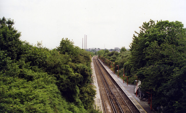 Swanscombe station, 1999