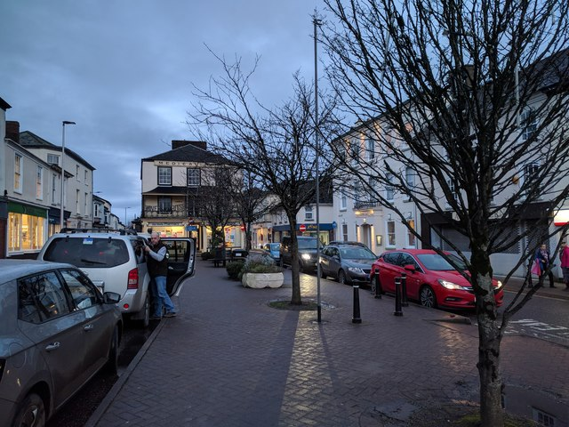 South Molton town centre
