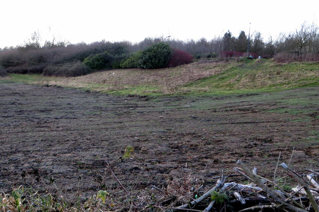 Land cleared in preparation for the new marina complex