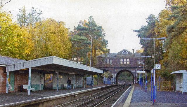 Tadworth station, 2004