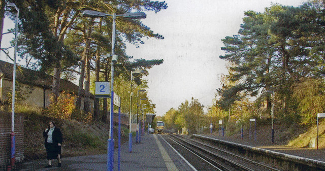Tadworth station, 2004