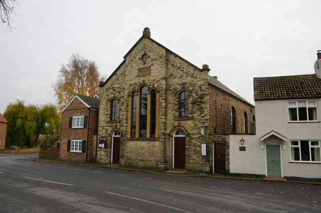 Methodist Church, Selby Road, Wistow