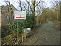 SE2332 : Entrance to Post Hill woods from Troydale by Stephen Craven