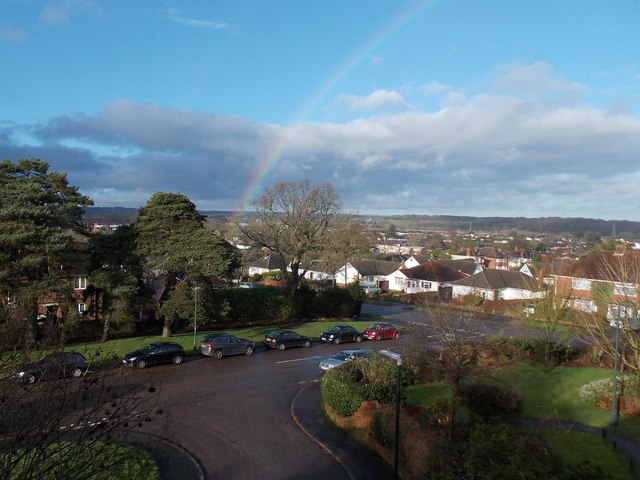 Northbourne: a New Year's rainbow