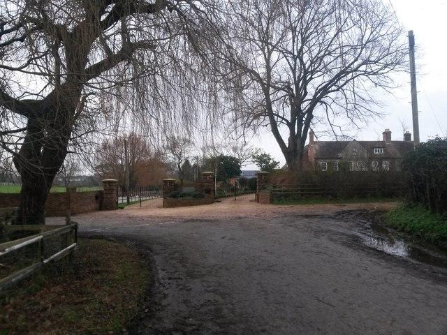 Knighton: the end of Knighton Lane