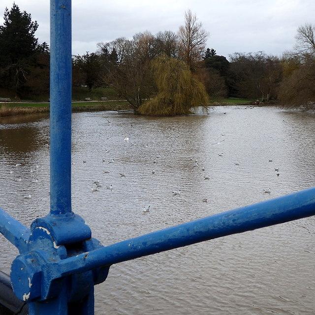 River Leam, Leamington