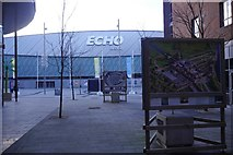 SJ3489 : Echo Arena by Richard Webb