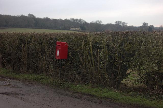 Postbox on East Lane