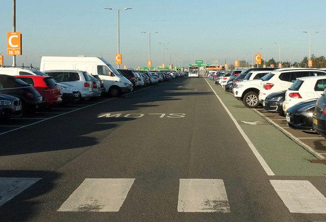Terminal 5 car park, Heathrow