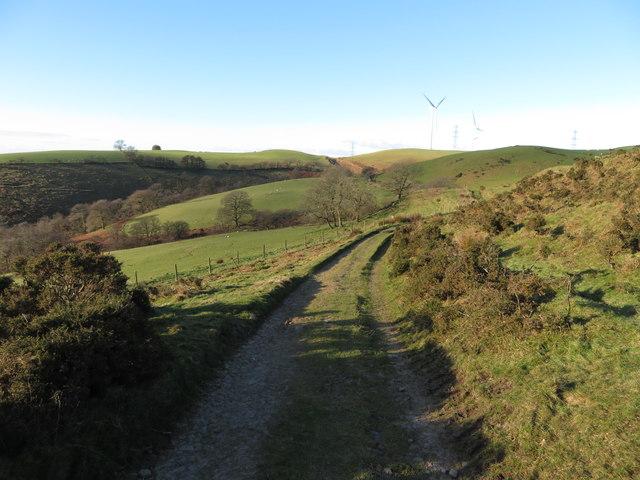 On the Taff Ely Ridgeway walk