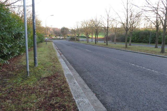 Overgate towards Cricket Green Roundabout
