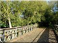 SK1615 : Bridge over millstream at Alrewas, Staffordshire by Roger  Kidd
