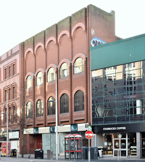 Former BHS (British Home Stores), Belfast - January 2018(2)