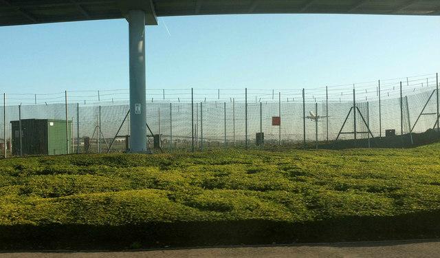 Fence, Heathrow Airport
