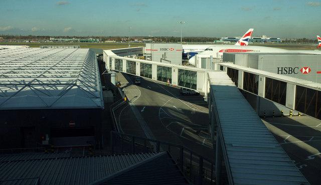 Jet bridge, Heathrow airport