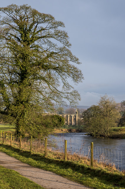 Towards Bolton Abbey