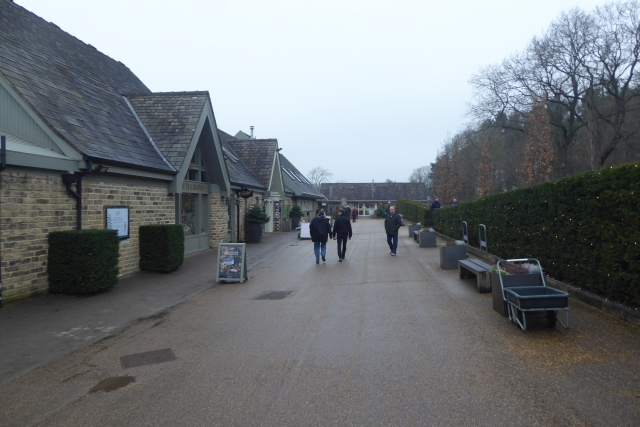Harlow Carr entrance