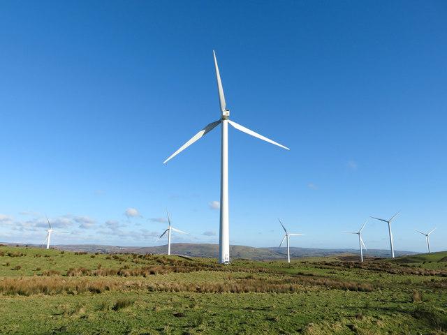 The Taff Ely windfarm
