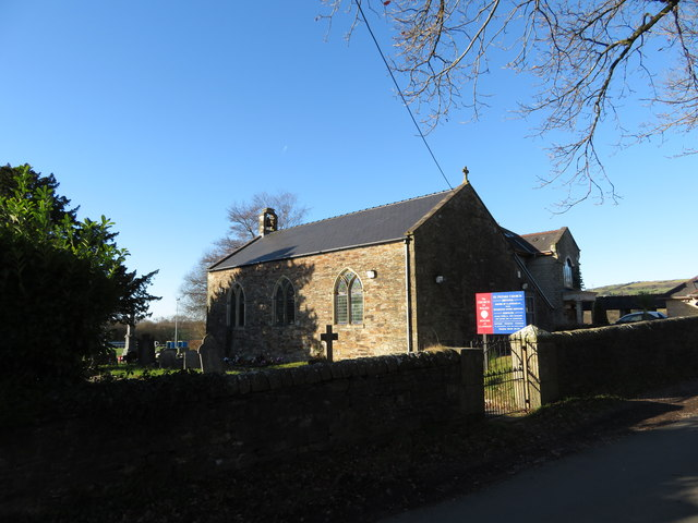 St. Peter's church in Brynna