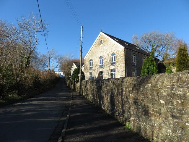 The former Bethlemhem chapel, Llanharan