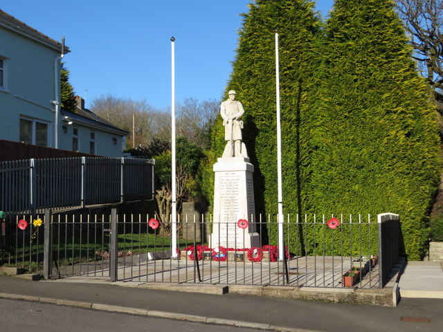 War memorial, Llanharan