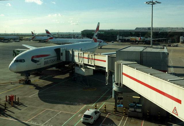 Gate C54, Heathrow airport