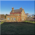 TL2149 : Potton: the former station building by John Sutton