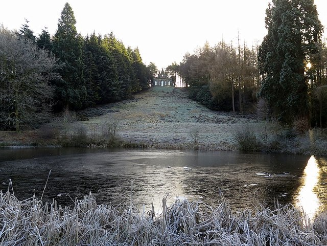 Fish Pond & Banqueting House, Gibside