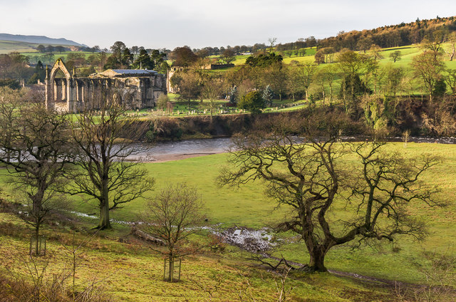 River Wharfe from Ungain Terrace