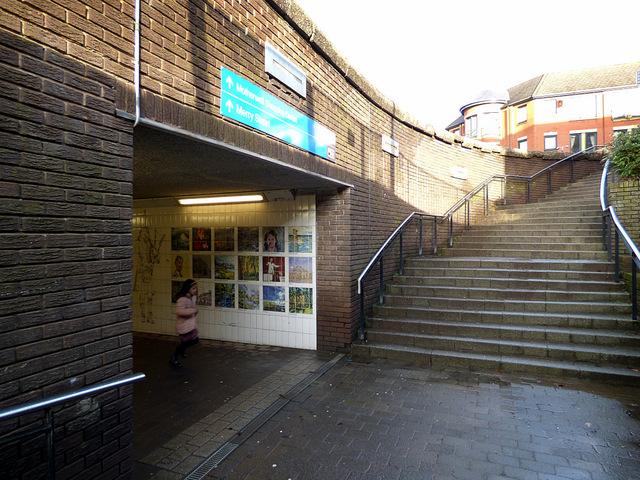 Barrie Street underpass
