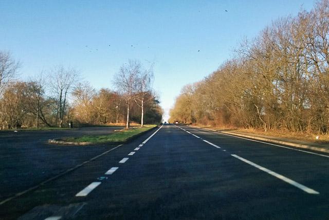 A5 northbound