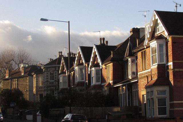 Houses on Zetland Road, Bristol