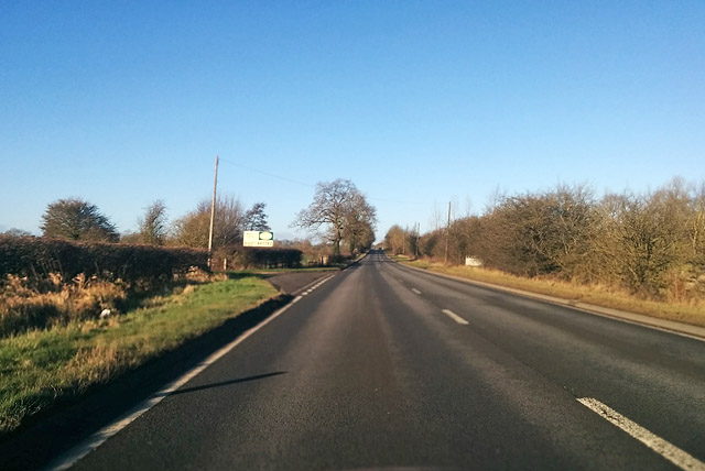 A5 heading north